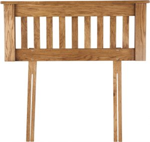 Country Rustic Oak 3′ Headboard