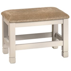 Cobble Painted Dressing Table Stool | Fully Assembled