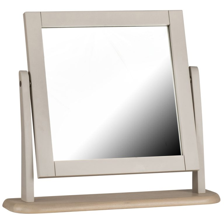 Cobble Painted Dressing Table Mirror | Fully Assembled