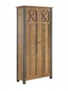 Urban Elegance Reclaimed Living Room Cabinet | Fully Assembled