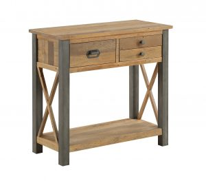 Urban Elegance Reclaimed Small Console Table | Fully Assembled