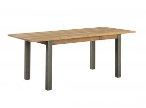 Urban Elegance Reclaimed Extending Dining Table