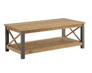 Urban Elegance Reclaimed Extra Large Coffee Table  | Fully Assembled