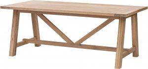 Richmond Light Oak Large Dining Table