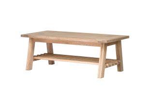 Richmond Light Oak Coffee Table  | Fully Assembled