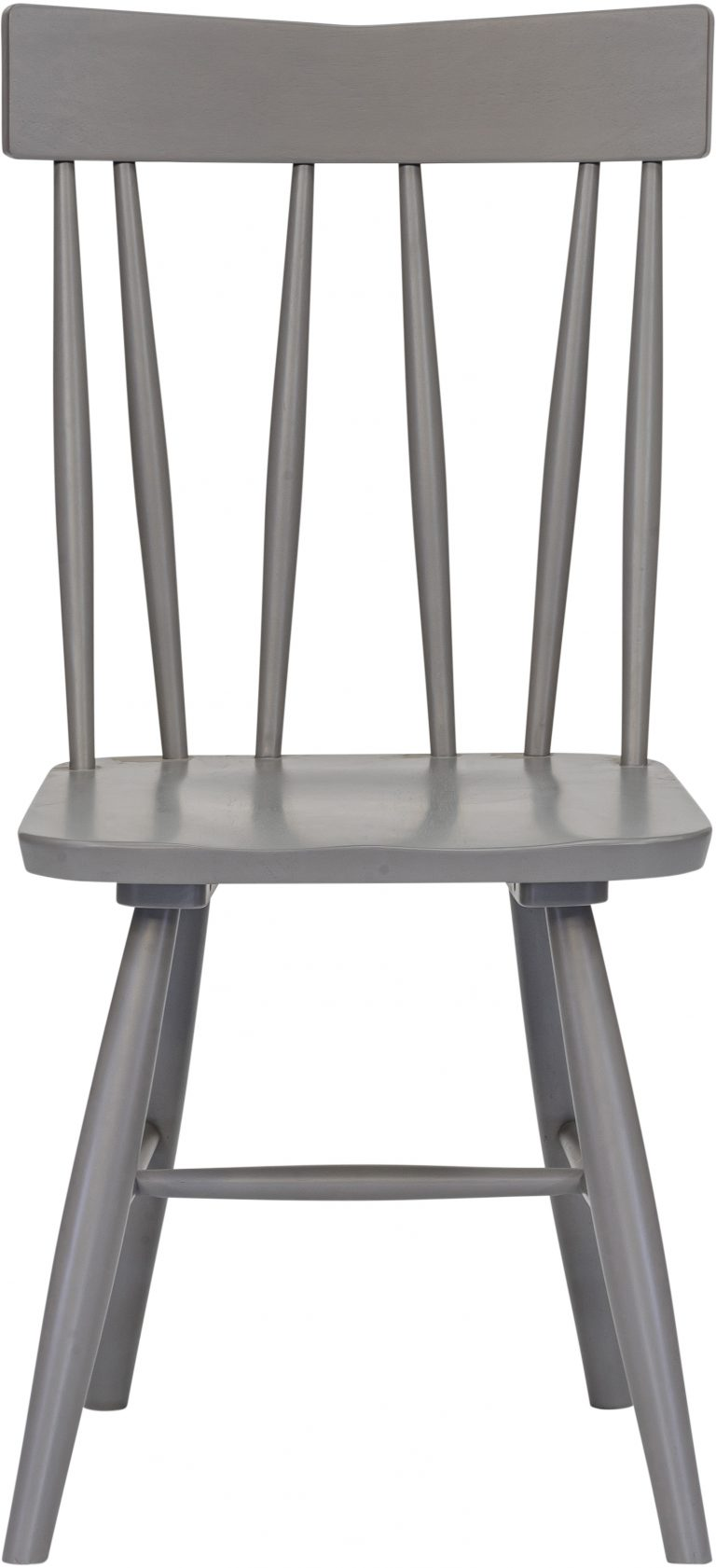 Richmond Light Oak Chevalet Dining Chair Painted Grey (Pair)  | Fully Assembled