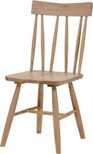 Richmond Light Oak Chevalet Dining Chair (Pair)  | Fully Assembled