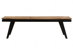 Cosgrove Reclaimed Wood Angled Leg Small Bench