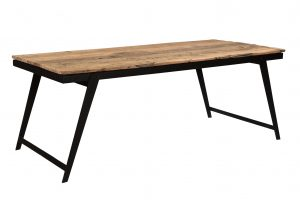 Cosgrove Reclaimed Wood Angled Leg Dining Table 2m