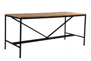 Cosgrove Reclaimed Wood Straight Leg Bar Table 2.5m