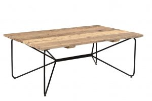 Cosgrove Butterfly Reclaimed Wood & Iron Coffee Table