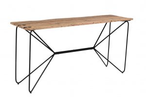 Cosgrove Butterfly Reclaimed Wood & Iron Console Table