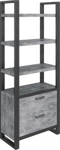 Classic Fusion Stone Bookcase with Drawers