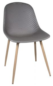Portofino Dining Chair-dark grey (Pair)
