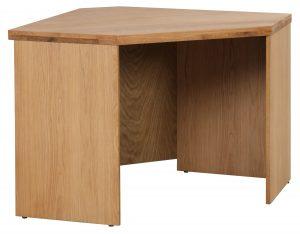 Classic Fusion Industrial Oak Corner Desk