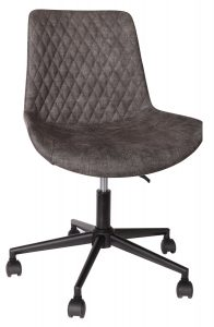 Classic Fusion Industrial Oak Home Office Swivel Chair