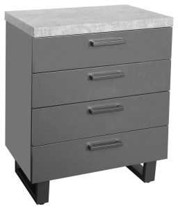 Classic Fusion Stone 4 Drawer Chest