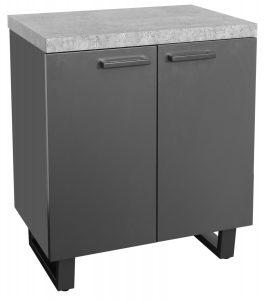 Classic Fusion Stone 2 Door Storage Cabinet