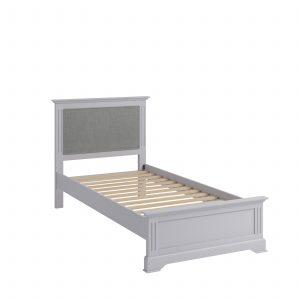 Windermere Moonlight Grey Painted 3′ Single Bed