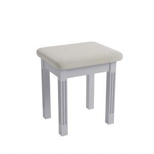 Windermere Moonlight Grey Painted Dressing Table Stool