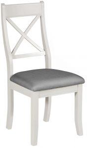 Classic Berkeley Painted Grey Bedroom Chair