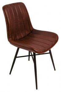 Croft Dining Chair – Vintage Coffee (Pair)