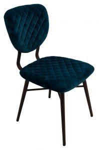 Ranger Dining Chair – Teal Velvet (Pair)