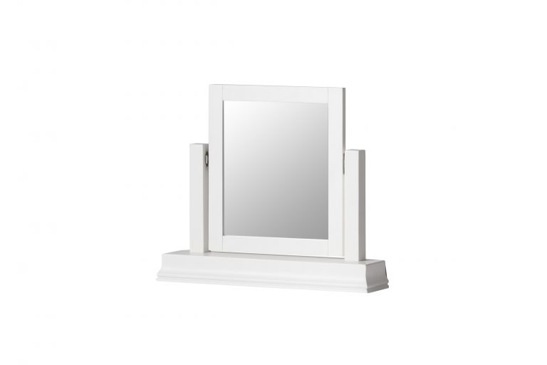 Windsor Painted White Dressing Table Mirror