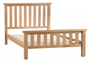 Chester Oak 6'0 Super King Size Bed