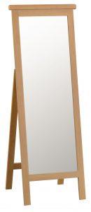 Chester Oak Cheval Mirror
