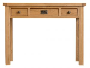 Chester Oak 3 Drawer Dressing Table
