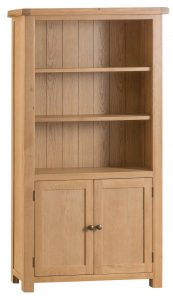 Chester Oak Large Bookcase