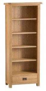 Chester Oak Medium Bookcase