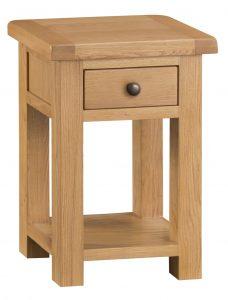 Chester Oak Side Table