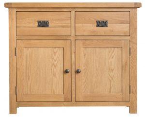 Chester Oak 2 Door 2 Drawer Sideboard