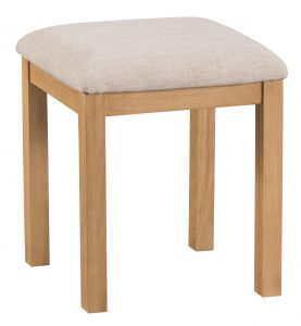 Chester Oak Dressing Table Stool