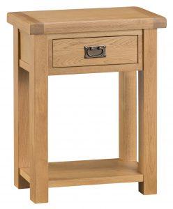 Chester Oak Telephone Table