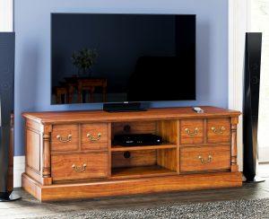 La Reine Mahogany Widescreen Television Cabinet