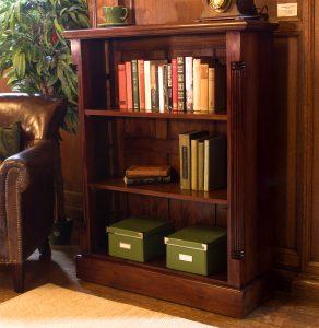 La Roque Mahogany Low Open Bookcase