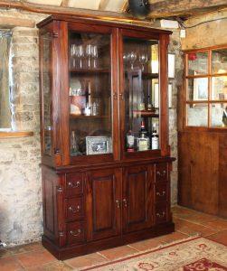 La Roque Mahogany Dresser Top Only