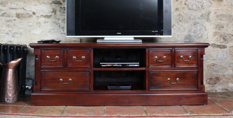 La Roque Mahogany Widescreen Television Cabinet