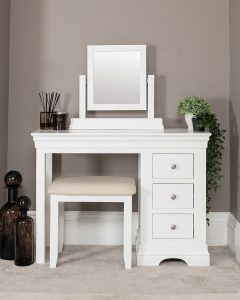 Windsor Painted White Dressing Table Only