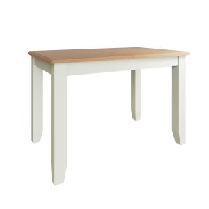 Lincoln Painted White 1.2m Extending Dining Table