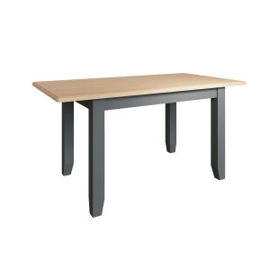 Lincoln Painted Grey1.6m Extending Dining Table