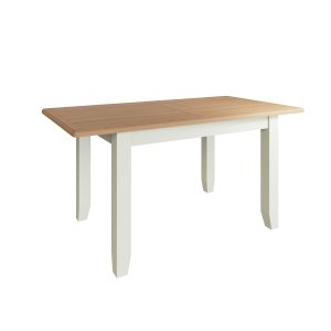 Lincoln Painted White 1.6m Extending Dining Table