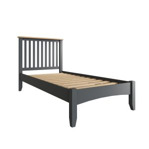 Lincoln Painted Grey 3′ Single Bed