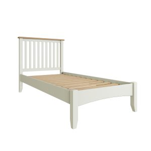 Lincoln Painted White 3′ Single Bed