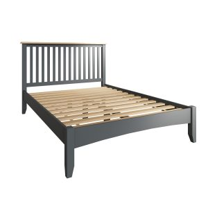 Lincoln Painted Grey 4'6 Double Bed