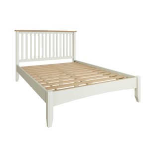 Lincoln Painted White 4'6 Double Bed