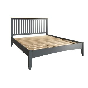 Lincoln Painted Grey 5′ King Size Bed